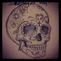 Sugar Skull by 12KathyLees12