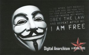 A revolt- Digital Anarchism by BraboAnarcho