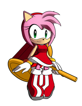 Amy Rose by AilaTF