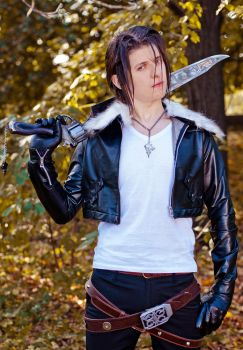 Squall Leonhart. by Leonharts-family