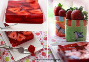 Strawberry Jello by theresahelmer