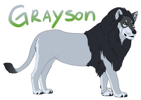 Grayson the Wolven Cat by Yazora