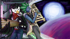 Starbound Jam Session by ErynKR
