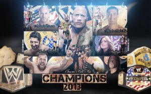 WWE Champions 2013 by CSWallpapers