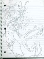 sketch: Slutfire New 52 cover of Red Hood 0 by Scintillant-H