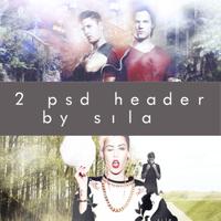 2 psd header pack by SilaEOfficial