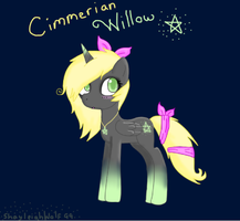 Cimmerian Willow by efflorish