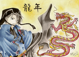 Hatori -Year of the Dragon- by StarstruckAngel762