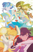 Sailor Moon: Bishoujo Senshis by nargyle
