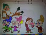 Roxina chase Dopey by Pinocchiofan4ever