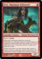 MtG - Sivir, Shuriman Sellsword by soy-monk