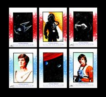 Star Wars Galactic Files Sketch Cards IV by AstroVisionary