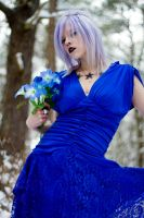 Blue Dress by Force4Photos