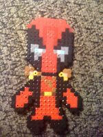 Deadpool Bead Sprite by fmagirl09