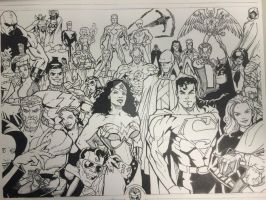 Justice League by Drakelb