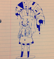 More school doodles by Lolibeat