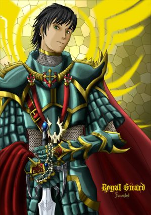 Armitael Gaiden: LM Edition Collect_3rd_Class___RoyalGuard_by_Russembell