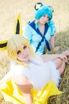 Jolteon and Shinx by Beldanndy