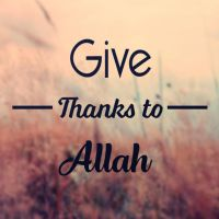 Give Thanks To ALLAH by dicky10official