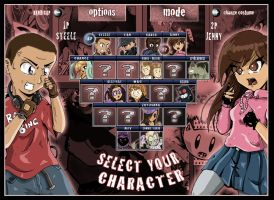 Character Selection screen by animefuzz