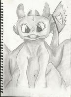 Toothless  Scan by RockinChipmunks
