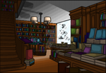 (Extra Credit) Colored Bookstore by GingerMama