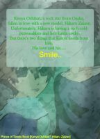 ..To Make You Smile Doujin Back Cover 1 by v-on