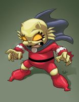 Baby Etrigan by EryckWebbGraphics
