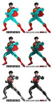 Superboy CG Concept by PlanetDann