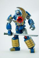 Power Rangers Ninja Storm Custom MiniZord by puzzledperplexity