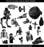 Lego Star Wars Brushes by ABluenightmare
