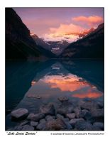 'Lake Louise Sunrise' by gwrhino