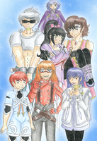 Team Platinum x Tales of Symphonia by CandySkitty