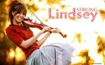 Lindsey Stirling_Violin_Sunset by juztkiwi