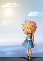 Maggie Simpson by MissFuturama