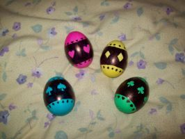 Shugo Chara Easter Eggs by DazyCat