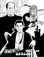 Universal Monsters #2 by RoyPrince