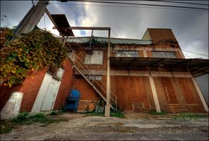 Hidden behind the buildings by Staticpictures