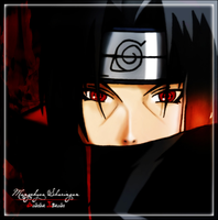 Itachi Uchiha color by sandybelly