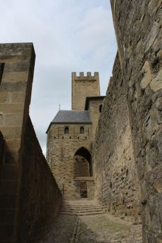 Carcassonne VII - Les remparts by Scipia