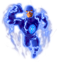 DC universe online Blue Lantern Flash by KalEl7