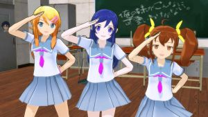 MMD Lat Oreimo Mee DL by damedatarou