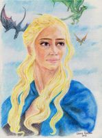 Mother of Dragons by Leeuwtje