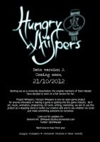 Hungry Whispers BetaV2 release - 21-10-2012 by JDWasabi