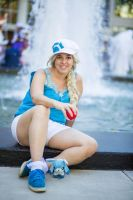 Pokemon Trainer Elsa by moonymonster