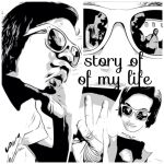 my life black and white by TYPE-OH