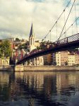 Bridge in Lyon by iDavor