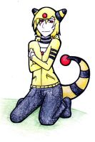 Ampharos Gijinka Adoptable: CLOSED by Prushia