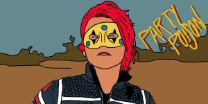 Party Poison speedpaint by Polygon-Eyes