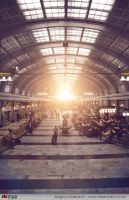 Stockholm Central Station by MazStudios